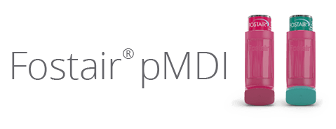 Fostair® pMDI - Device Images